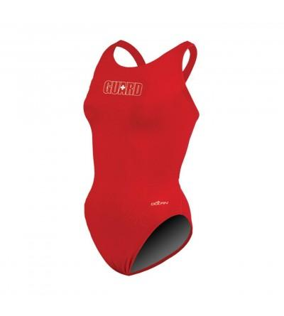 Dolfin Swimwear Solid Back Guard