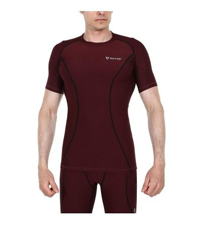 OUTOF T Shirts Baselayer Compression Rashguard
