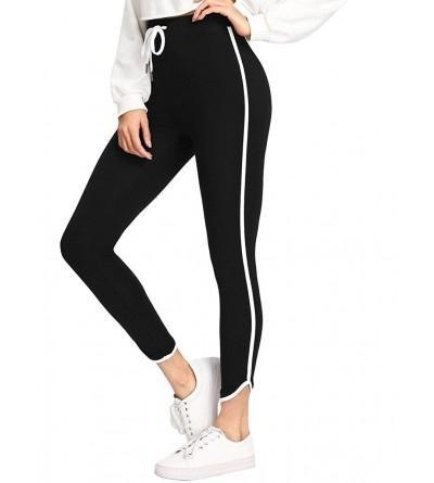 SweatyRocks Womens Workout Leggings Drawstring