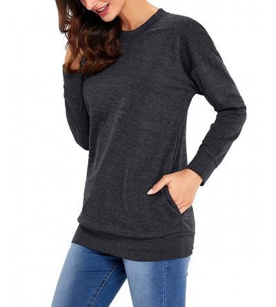 ZKESS Casual Sleeve Sweatshirt Blouses
