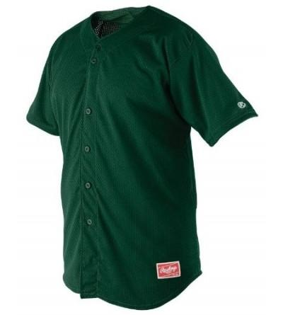 Rawlings Youth Button YBJ167 Jersey
