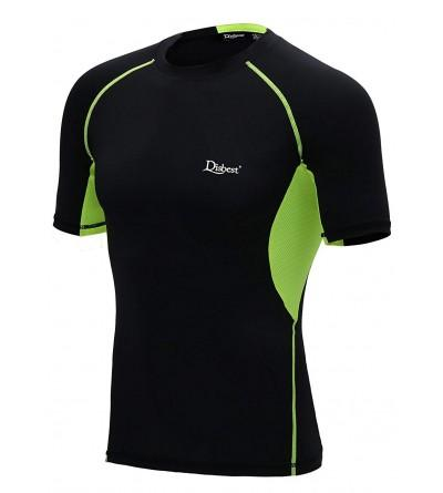 DISBEST T Shirt Sleeves Performance Compression