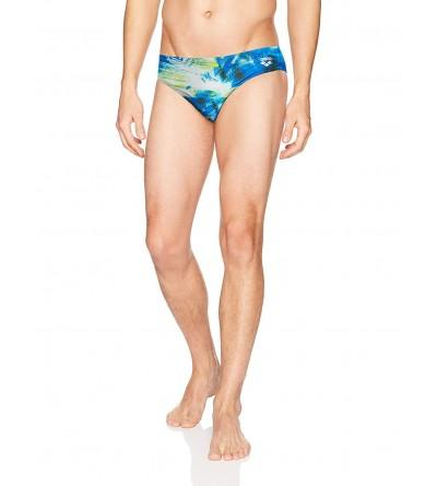 arena MaxLife Brief Pixie Blue Multicolor
