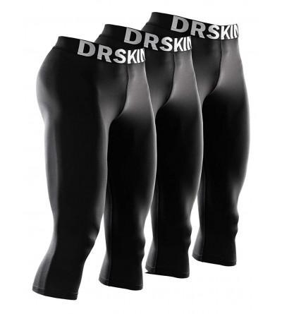 DRSKIN Compression Tight Running Shorts