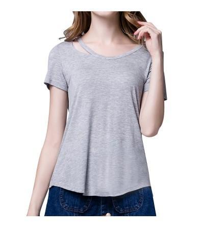 RoxZoom Womens T Shirt Spandex Pullover