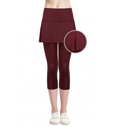 Cityoung Skirted Leggings Lightweight Athletic