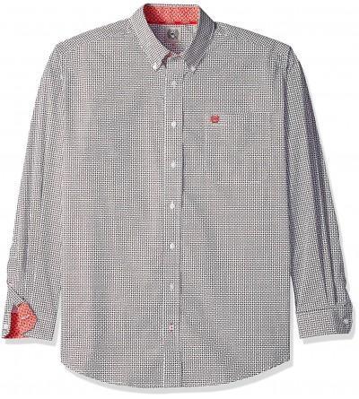 Cinch Basketweave Print Western Shirt