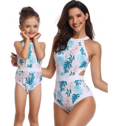 BBYES Daughter Swimsuits Matching Swimwear