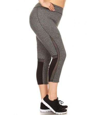 Womens Plus Leggings Sports Pants