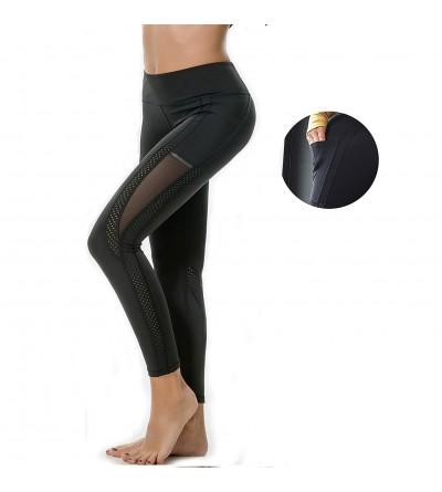 MOVLO Pockets Control Leggings Stretchy