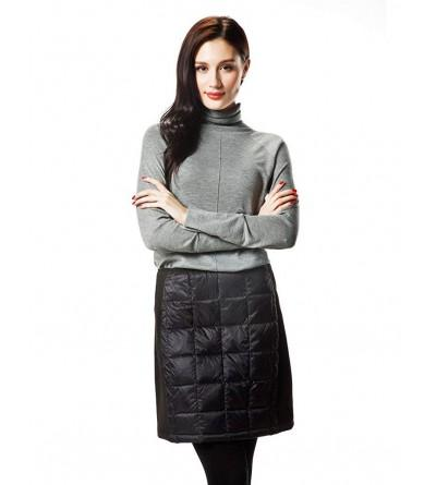 XPOSURZONE Women Packable Quilted Skirt