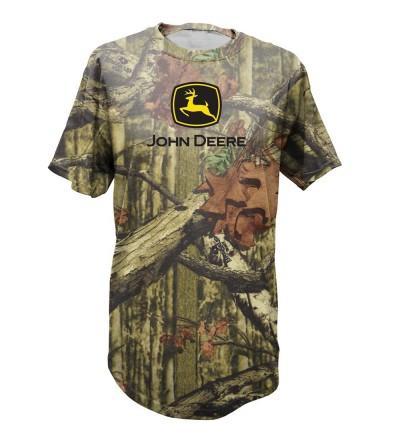 John Deere Camouflage T Shirt Forrest