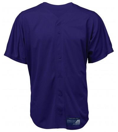 Mizuno Button Sleeve Baseball Jersey