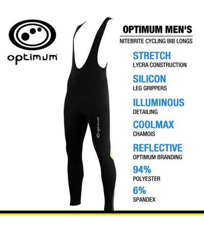 Optimum Mens Nitebrite Cycling Longs