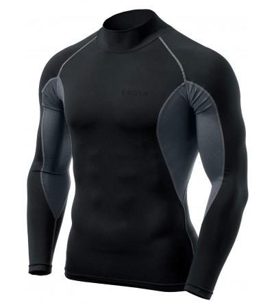 TSLA Long Sleeved T Shirt Compression Baselayer