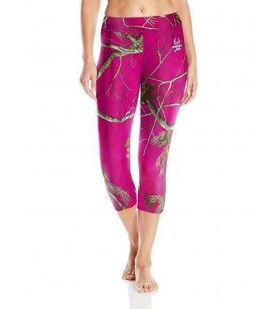 Realtree Womens Cropped Yoga Pant