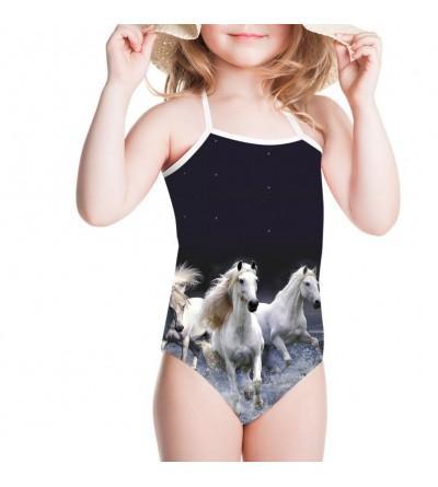 Showudesigns Girls Swimwear Animal Bathing