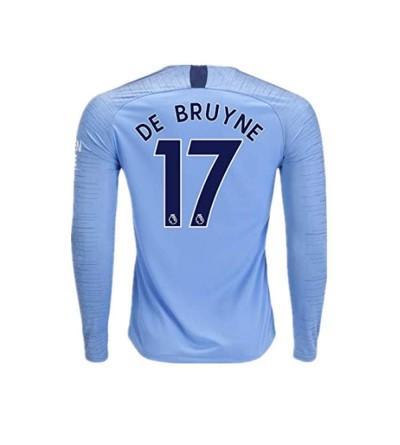 Manchester BRUYNE Sleeve Soccer 2018 2019
