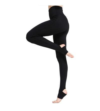Witkey Stirrup Control Crisscross Leggings