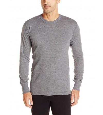 Stanfields Cotton Blend Sleeve Charcoal