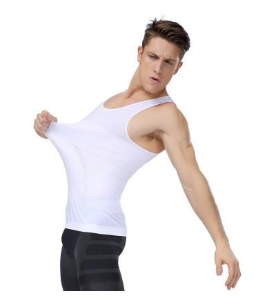 Shaxea Compression Shapewear Gynecomastia Undershirt