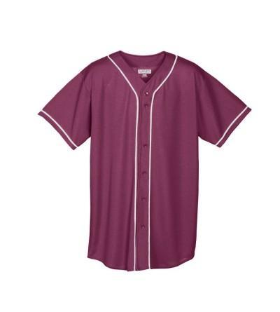 Augusta Sportswear Wicking Button Jersey