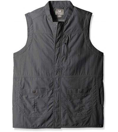 White Sierra Mens Traveler Vest