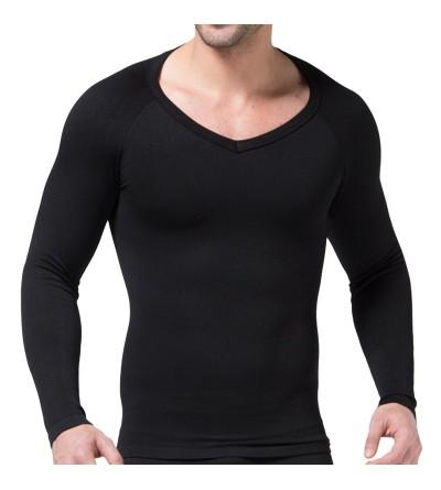 Earlish Undershirts Sleeve Thermal Slimming