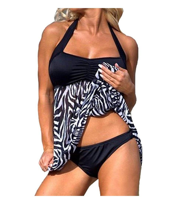 Eternatastic Womens Tankini Swimwear Swimsuit