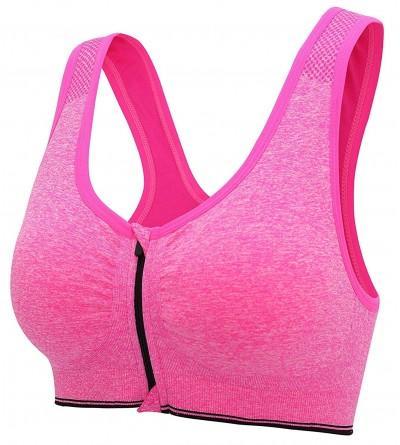 Gemch Zipper Fitness Workout Activewear