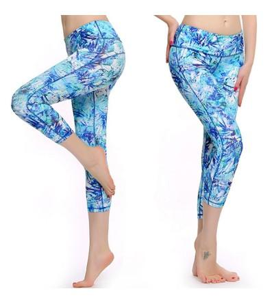 PASSWIN Dry Fit Workout Printed Leggings