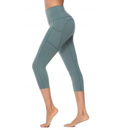 OVESPORT Workout Leggings Pockets Running