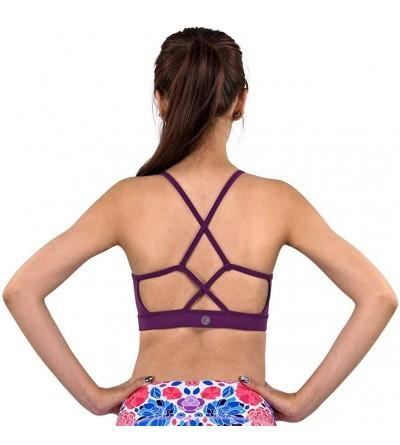 Cross Strap Violet Yoga WireFree Removable