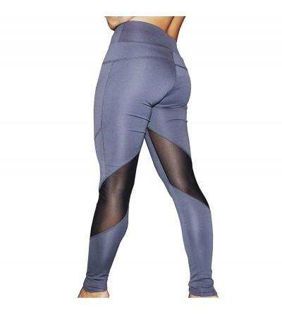 Runner Island Charcoal Compression Leggings