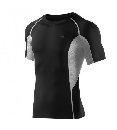 PASSWIN Sports Compression Shirts Sleeve