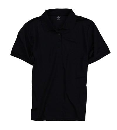 Women Polyester Shirts Protection Black