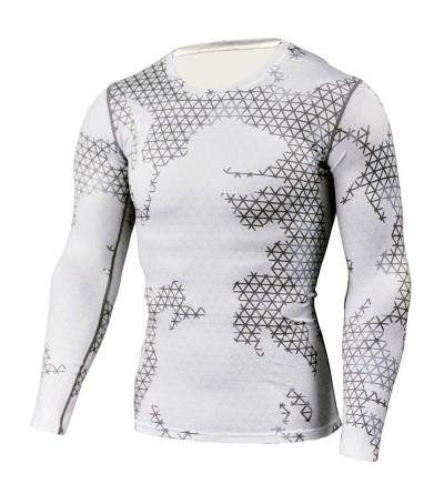 1Bests Compression Long Sleeved Breathable Quick Drying