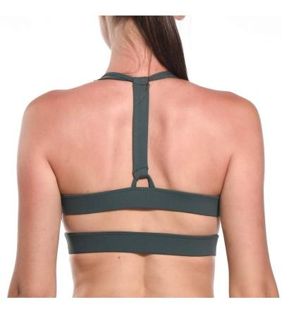 Criss Cross Strappy Removable Support Activewear