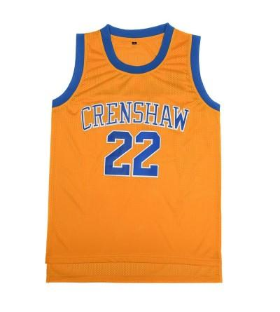 TUEIKGU Sports Jerseys Crenshaw Basketball