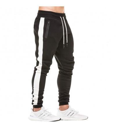 MECH ENG Workout Joggers Stripe Sweatpants