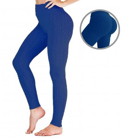 ChinFun Leggings Control Stretchy Honeycomb