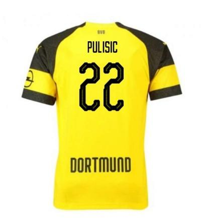 Dortmund Stadium Christian Pulisic Yellow