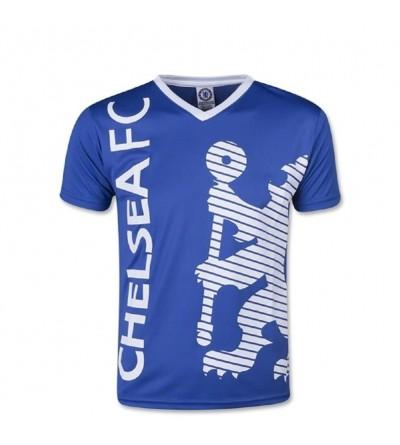 Chelsea Soccer Training Jersey Blue White Medium