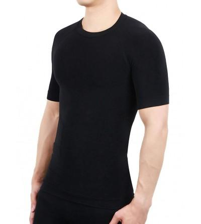 Mens Short Sleeve Compression Shirt