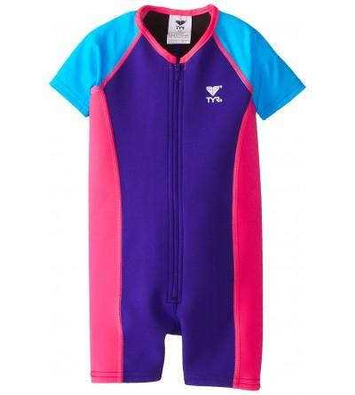 TYR Sport Girls Solid Thermal