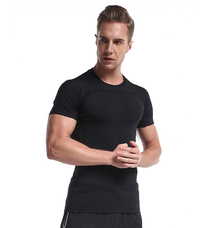 CAIKENI Compression Baselayer Athletic T Shirts
