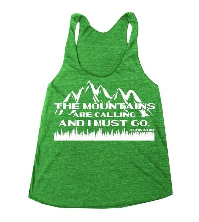 Happy Family Clothing Mountains Racerback