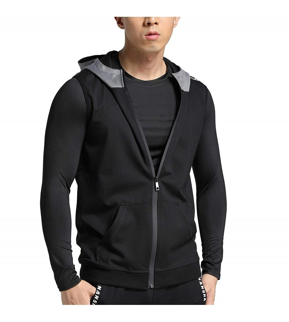 MuscleMate Premium Sleeveless Workout Hoodies