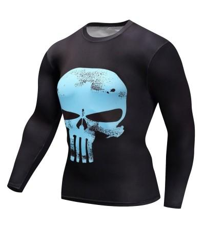 Findci Fitness Punisher Printing Compression