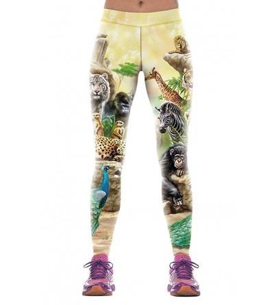 Wowforu Digital Printed Footless Legging